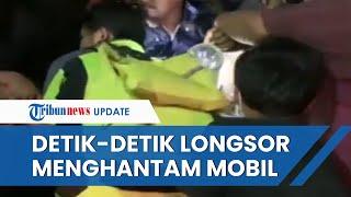 Video Detik-detik Longsor di Sibolangit Menghantam Mobil, 3 Orang Tewas di Lokasi Kejadian