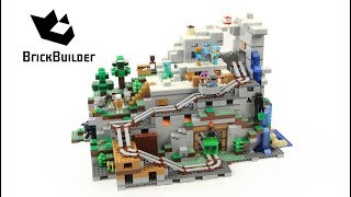 Lego Minecraft 21137 The Mountain Cave – Lego Speed Build