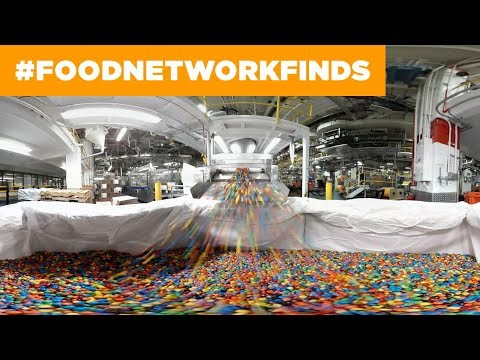 How M&Ms Are Made: Exclusive 360° Candy Factory Tour | Food Network