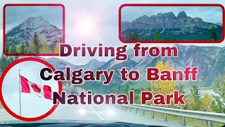 Driving from Calgary to Banff National Park | Alberta, Canada🇨🇦| Travel Vlog | Summer Sky