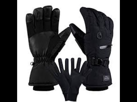 Mounchain Winter Ski Gloves Review