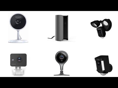 Top 10 Best Security Cameras 2018