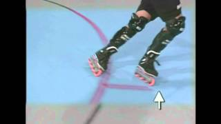 Roller Hockey for kids - Inline Skating Tutorial - Crossovers