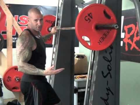 Smith Machine Standing Calf Raise by Jim Stoppani