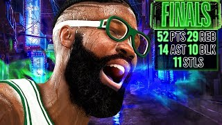 50 POINT QUINTUPLE-DOUBLE IN FINALS! NBA 2K20 My Career Gameplay Best Paint Beast Build