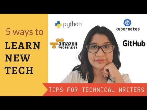 5 Ways to Develop Tech Skills | TECHNICAL WRITER - YouTube