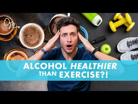 Alcohol Healthier Than Exercise?! | New Study | Doctor Mike