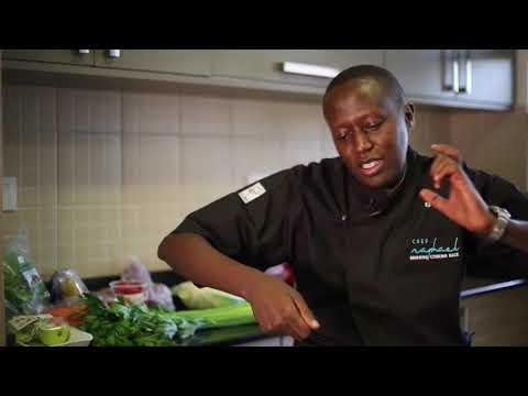 All about Chef Raphael…..The Kwese TV interview