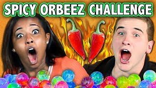 SPICY ORBEEZ CHALLENGE! (ft. React Cast) | Challenge Chalice