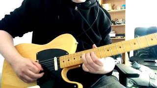 Dizzy Mizz Lizzy - Barbedwired Baby's Dream (Guitar Cover)