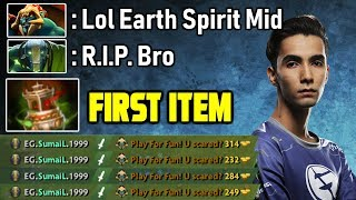 OMG Sumail plays Earth Spirit Mid again - 7.20 Cancer Pick