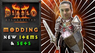 Creating New Items and Sets in Diablo 2 Resurrected