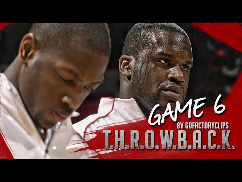 Throwback: Dwyane Wade & Shaquille O'Neal Full Highlights 2006 Playoffs R1G6 at Bulls – SICK!
