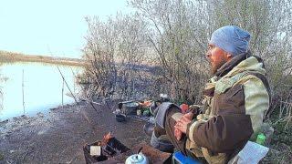 Рыбалка с ночёвкой на закидушки,донки,фидер.Ловля шикарного Карася и Ротан-Мутант.