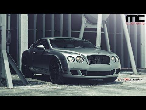 MC Customs | Bentley Continental GT · Vellano Wheels