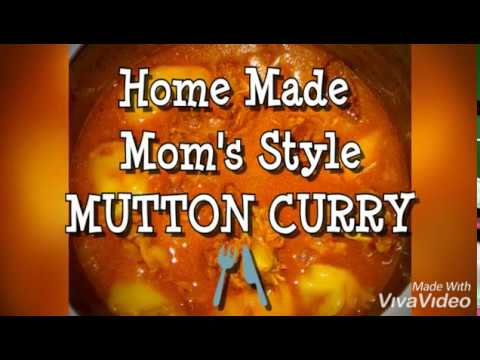 SUNDAY SPECIAL(MUTTON CURRY BY MOM)