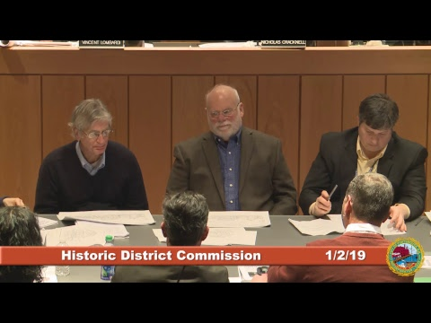 Historic District Commission 1.2.19