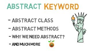40 - Abstract keyword in Java | Abstract class and Methods in Java