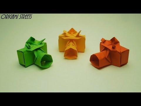 Как сделать Оригами фотоаппарат из бумаги