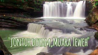 preview picture of video 'Trip to Jontur doyam waterfall  with friends - muara Teweh |air terjun km 18'