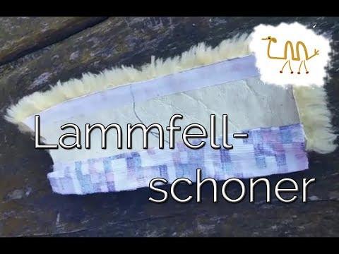 【DIY】 ~ Lammfellschoner ~ Genickschoner ~ Halfterschoner ~ selber machen