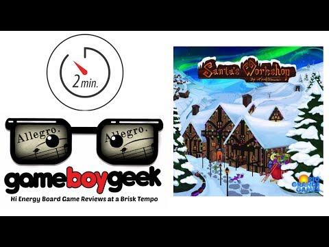 The Game Boy Geek's Allegro (2-min) Review of Santa's Workshop