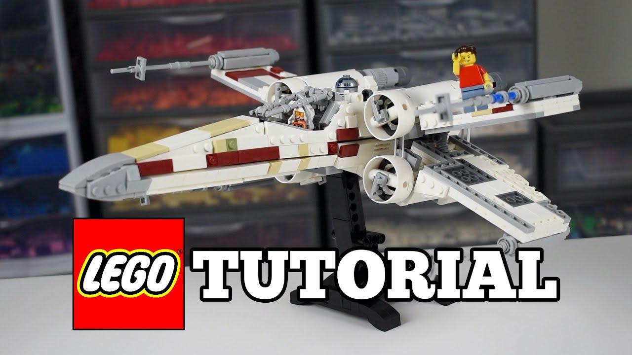 LEGO Star Wars Original Trilogy X - Wing MOC - Tutorial