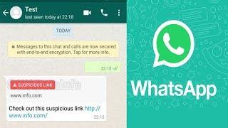 WhatsApp Uji Fitur Baru untuk Deteksi Link Mencurigakan