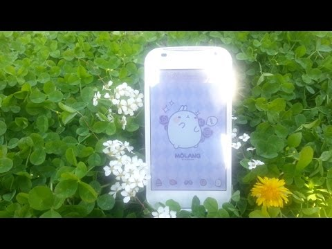 Video of Molang Donut Yellow Atom theme