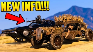 POSSIBLE NEXT GTA ONLINE DLC INFO - DEATH RACES, NEW SPECIAL VEHICLES & MORE