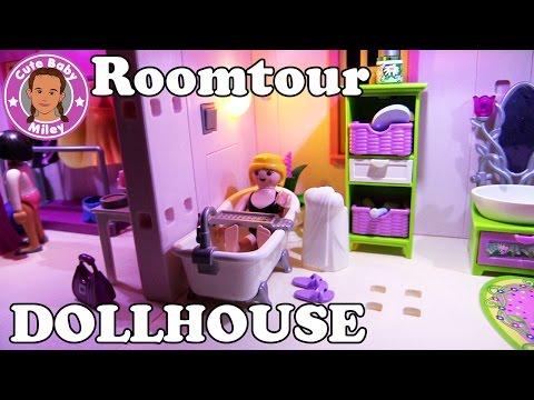 ROOMTOUR PLAYMOBIL DOLLHOUSE - Mileys Puppenhaus komplett eingerichtet | CuteBabyMiley