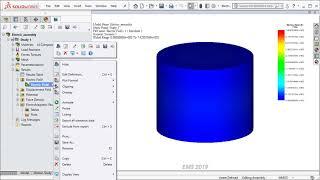 Electrostatic Simulation with Parametrization