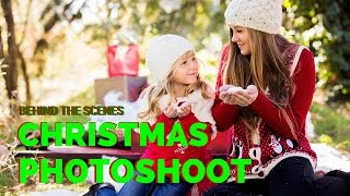Christmas Mini Session, Behind The Scenes
