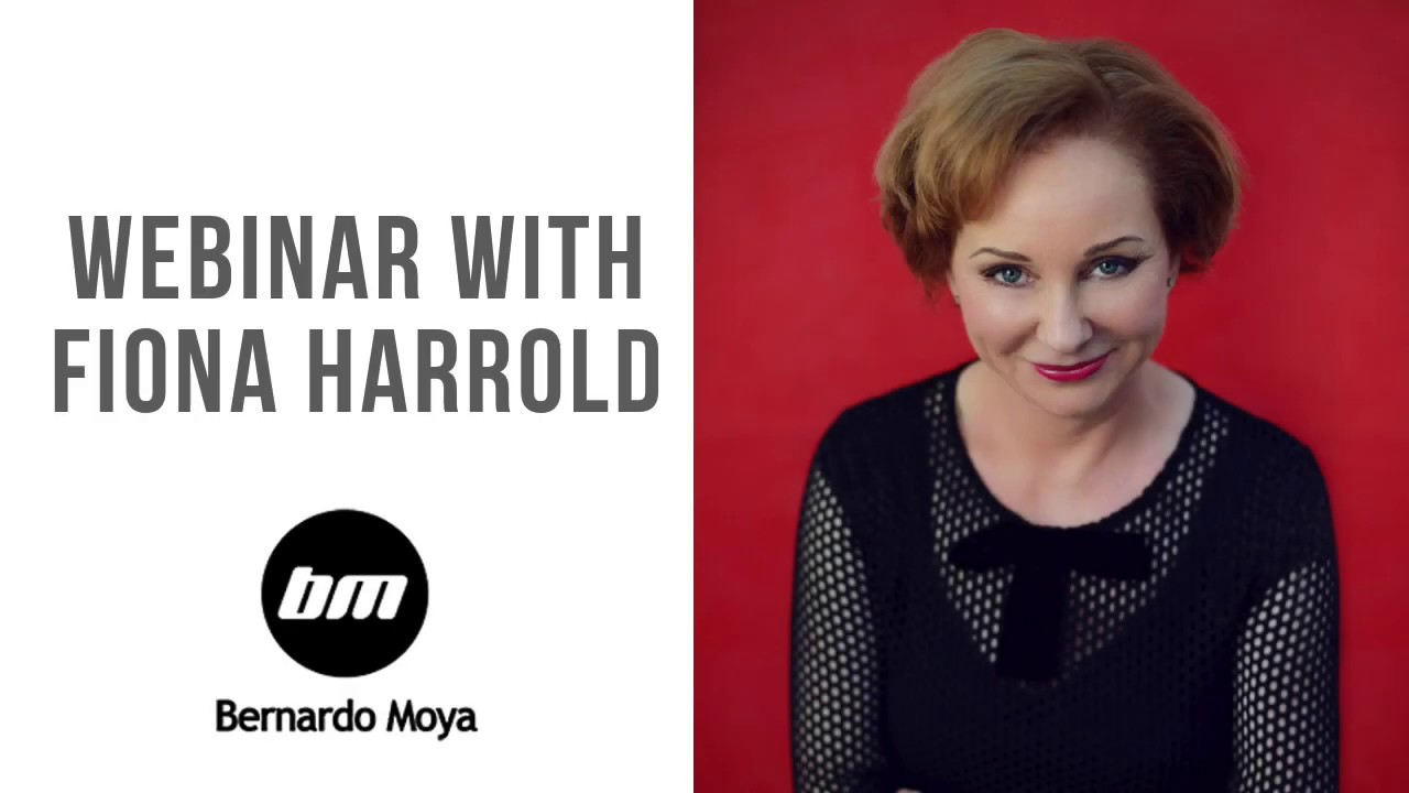 Seminario web con Fiona Harrold y Bernardo Moya