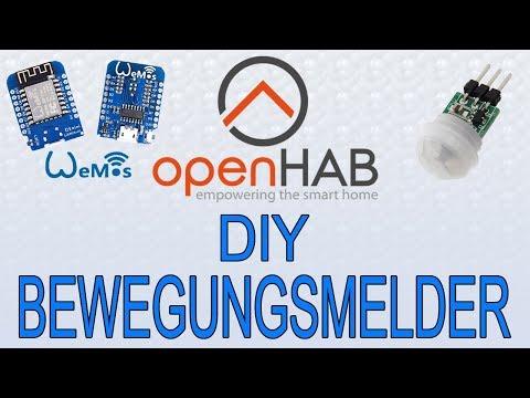 Download Diy Bewegungsmelder Openhab 2 Wemos D1 Mini Pir Sensor Mqtt