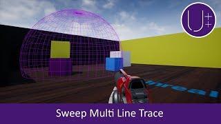 Unreal Engine 4 C++ Tutorial: Sweep Multi Line Trace