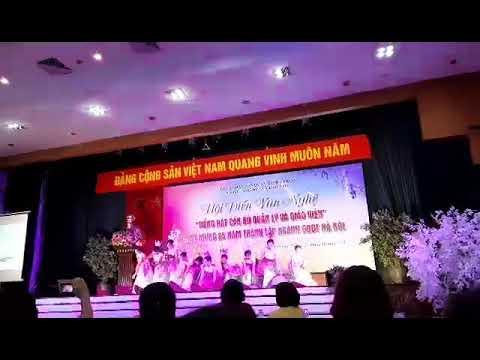 Hội diễn văn nghệ tiếng hát truyền hình cán bộ quản lý và giáo viên
