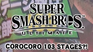 CoroCoro 108 Stages Update! - Super Smash Bros. Ultimate Discussion!
