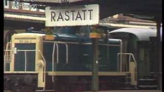 preview picture of video 'Bahnhof Rastatt 1984 - Güterhallenfest - (Ausschnitt)'