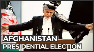 Ashraf Ghani declared winner of Afghan presidential election