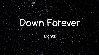 Lights   Down Forever (lyrics)