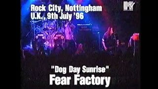 FEAR FACTORY - Skumgrief / Pisschrist / Dog Day Sunrise (Live in Nottingham, UK, 09.07.1996)