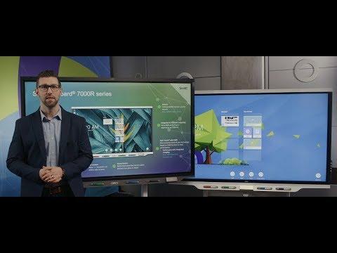SMART Board 7000R series Comparison Video