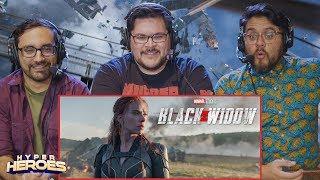 Black Widow - Official Teaser Trailer Reaction
