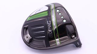 Callaway Epic MAX Driver - What you need to know