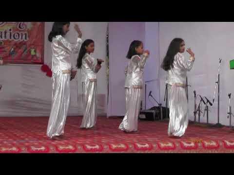 Beautiful dance by middle class students | Simple dance steps | Rudra Public School singrauli