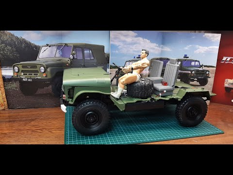 #DeaGostini #УАЗ469 Сборка модели Part 9.  Выпуск №29-32 Scale 1/8