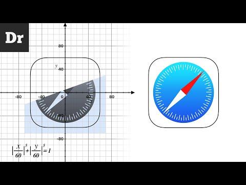 Секрет формы иконок iOS | РАЗБОР