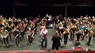 KW Glee Term 14 Boogie Woogie Bugle Boy/Sing/Jump Jive and Wail