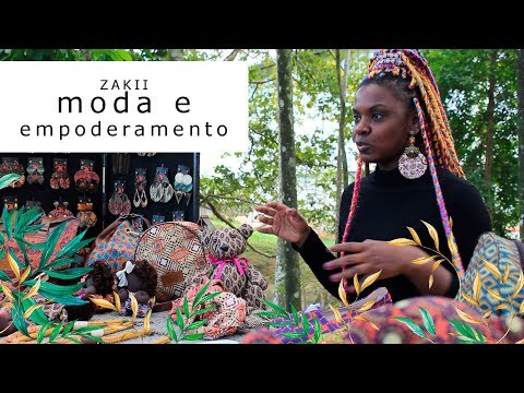 Imagem Video - Zakii: estamparia, moda e empoderamento